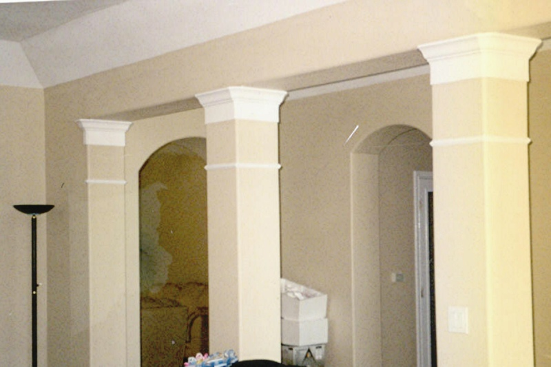 Columns in houses interior 28 images interior columns for Columns in houses interior